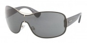 Prada PR 63OS Sunglasses Sunglasses - ZVN1A1 Pale Gold Gray 