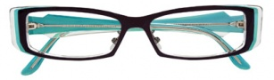 BCBGMaxazria Adele Eyeglasses Eyeglasses - BLA Black 