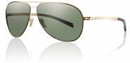 Smith Optics Ridgeway Sunglasses Sunglasses - Gold / Polarized Gray Green