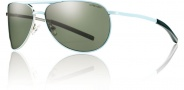 Smith Optics Serpico Slim Sunglasses Sunglasses - Mint / Polarized Gray Green
