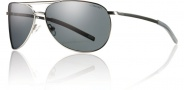Smith Optics Serpico Slim Sunglasses Sunglasses - Matte Gunmetal / Polarized Gray