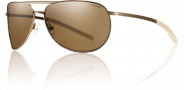 Smith Optics Serpico Slim Sunglasses Sunglasses -  Matte Desert / Polarized Brown