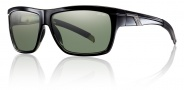 Smith Optics Mastermind Sunglasses Sunglasses - Black / Polarized Gray Green