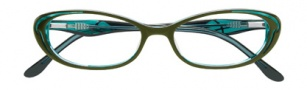 BCBGMaxazria Devyn Eyeglasses Eyeglasses - OLI Olive Laminate 