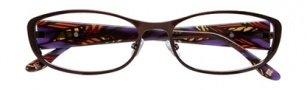 BCBGMaxazria Mae Eyeglasses Eyeglasses - BRO Brown