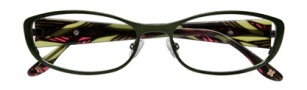 BCBGMaxazria Mae Eyeglasses Eyeglasses - OLI Olive 