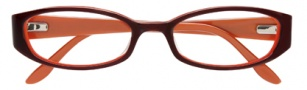 BCBGMaxazria Margo Eyeglasses Eyeglasses - BRO Brown Laminate