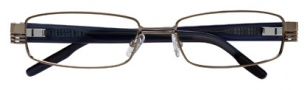 BCBGMaxazria Massimo Eyeglasses Eyeglasses - GUN Gunmetal 