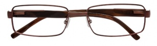 BCBGMaxazria Pierro Eyeglasses Eyeglasses - BRO Brown