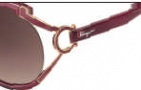 Salvatore Ferragamo SF600S Sunglasses Sunglasses - 604 Burgundy
