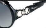 Salvatore Ferragamo SF601S Sunglasses Sunglasses - 001 Black