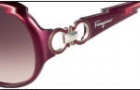 Salvatore Ferragamo SF601S Sunglasses Sunglasses - 605 Pearl Bordeaux