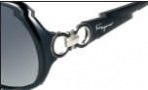 Salvatore Ferragamo SF602S Sunglasses Sunglasses - 001 Black 