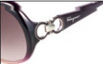 Salvatore Ferragamo SF602S Sunglasses Sunglasses - 501 Violent Gradient 