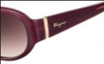 Salvatore Ferragamo SF605S Sunglasses Sunglasses - 604 Burgundy