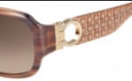 Salvatore Ferragamo SF608S Sunglasses Sunglasses - 217 Brown Horn 