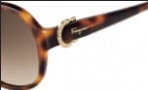 Salvatore Ferragamo SF611SR Sunglasses Sunglasses - 214 Tortoise