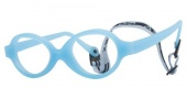 Miraflex Baby Zero 2 Eyeglasses Eyeglasses - EP - Light Blue Pearl