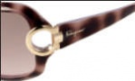 Salvatore Ferragamo SF621S Sunglasses Sunglasses - 219 Havana Mauve