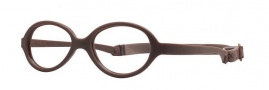 Miraflex Baby One 44 Eyeglasses Eyeglasses - MM - Dark Brown