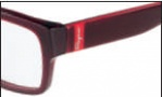 Salvatore Ferragamo SF2609 Eyeglasses Eyeglasses - 613 Crystal Red 