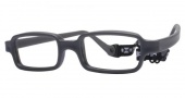 Miraflex New Baby 1 Eyeglasses Eyeglasses - J - Dark Gray