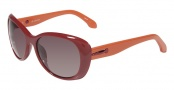 CK by Calvin Klein 3130S Sunglasses Sunglasses - 046 Burgundy