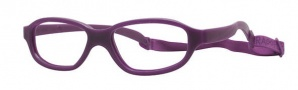 Miraflex Nicki 48 Eyeglasses Eyeglasses - P - Plum