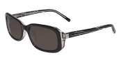CK by Calvin Klein 4148S Sunglasses Sunglasses - 003 Black / Crystal