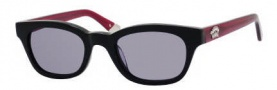Juicy Couture Juicy 534/S Sunglasses Sunglasses - 0807 Black (24 light gray lens)