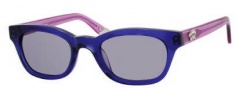 Juicy Couture Juicy 534/S Sunglasses Sunglasses - 01L2 Plum Red Siam (24 light gray lens)
