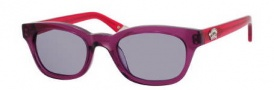 Juicy Couture Juicy 534/S Sunglasses Sunglasses - 01H5 Sapphire Berry (24 light gray lens)