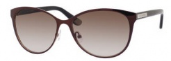 Juicy Couture Juicy 535/S Sunglasses Sunglasses - 01M7 Dark Cabernet (Y6 brown gradient lens)