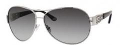 Juicy Couture Juicy 536/S Sunglasses Sunglasses - 06LB Silver (Y7 gray gradient lens)