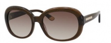 Juicy Couture Juicy 537/S Sunglasses Sunglasses - 01Q0 Brown Glitter (Y6 brown gradient lens)