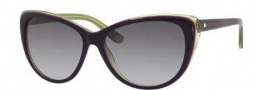 Juicy Couture Juicy 538/S Sunglasses Sunglasses - 0FA3 Eggplant Green (Y7 gray gradient lens)