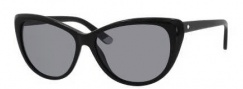 Juicy Couture Juicy 538/S Sunglasses Sunglasses - 0807 Black (TO gray lens)