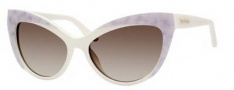 Juicy Couture Juicy 539/S Sunglasses Sunglasses - 0EG8 Ivory (Y6 brown gradient lens)