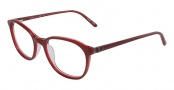 CK by Calvin Klein 5649 Eyeglasses Eyeglasses - 620 Red Crystal