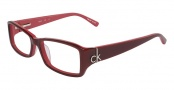 CK by Calvin Klein 5652 Eyeglasses Eyeglasses - 615 Red