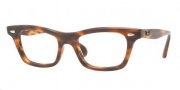 Ray Ban RX5281 Eyeglasses Eyeglasses - 2144 Striped Havana / Demo Lens
