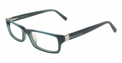 CK by Calvin Klein 5674 Eyeglasses Eyeglasses - 404 Blue Green 
