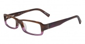 CK by Calvin Klein 5696 Eyeglasses Eyeglasses - 274 Brown Horn
