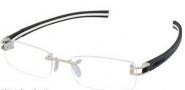 Tag Heuer 7642 Eyeglasses Eyeglasses - 002 Clear Black Red