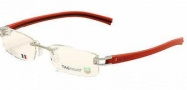 Tag Heuer 7642 Eyeglasses Eyeglasses - 005 Red / Black