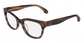 CK by Calvin Klein 5727 Eyeglasses Eyeglasses - 274 Brown Horn 