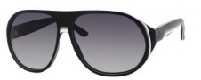 Gucci 1025/S Sunglasses Sunglasses - 0GRJ Black Pom White (VK gray gradient lens)