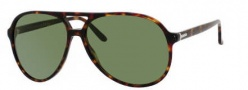 Gucci 1026 Sunglasses Sunglasses - 0TVD Havana (EH green lens)