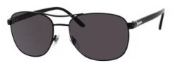 Gucci 2220 Sunglasses Sunglasses - 065Z Shiny Black (M9 gray polarized lens)