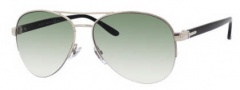 Gucci 2221 Sunglasses Sunglasses - 0EEI Light Gold (ZW dark green gradient lens)